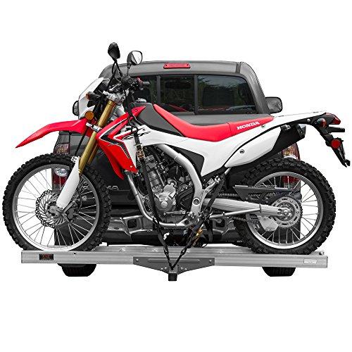 Aluminum Motocross & Dirt Bike Hitch Mounted Carrier AMC-400 for 2