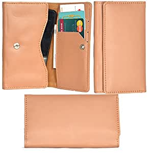 R&A Pu Leather High Quality Wallet Pouch Case Cover With Card Slot & Note Slots,Soft Inner Velvet For Lenovo A1000