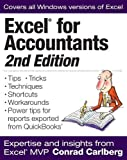 img - for Excel for Accountants, Second Edition 2nd (second) , Seco Edition by Carlberg, Conrad published by CPA911 PUBLISHING (2011) book / textbook / text book