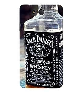 D KAUR Whisky Lovers Back Case Cover for InFocus M530