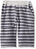 Charlie Rocket Boys 8-20 Stripe Rib Waist Short