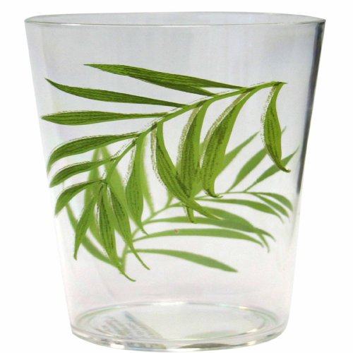 Corelle Coordinates Bamboo Leaf 14-Ounce Acrylic Glass, Set of 6