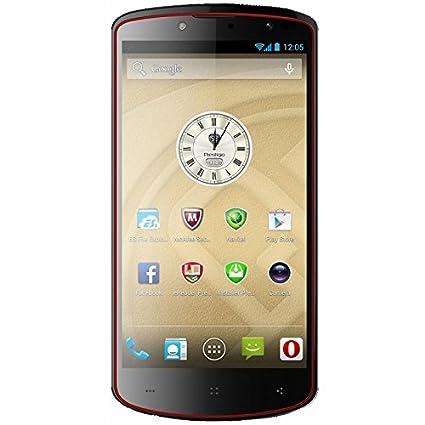 SMARTPHONE PRESTIGIO PAP7500BLACK16GB 5 Micro-sim MT6589T QuadCore 1,5GHz 1GB 16GB 13+8Mpx GPS NFC Android 4.2