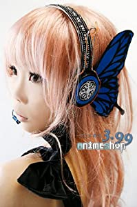 Blue Headset Earphones for Cosplay of Vocaloid Megurine Luka in Magnet