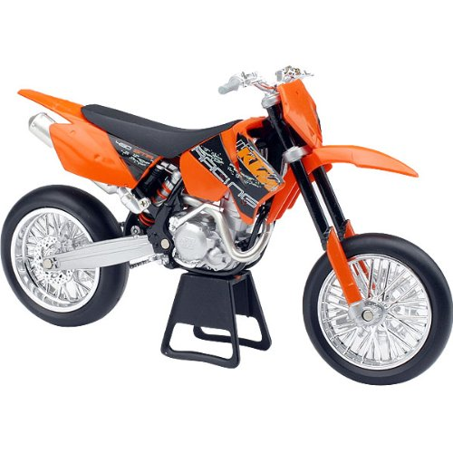 New Ray KTM 2006 450SMR Super Moto/Motard Replica Motorcycle Toy - Orange/Black / 1:12 Scale
