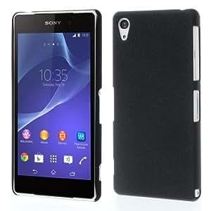 Gioiabazar Ultra Thin Rubberized Matte Hard Case Back Cover for Sony Xperia Z2 D6502 Black