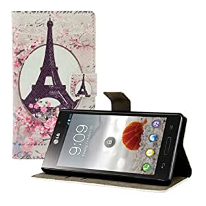 Amazon.com: kwmobile® Chic leather case for the LG Optimus L9 P760