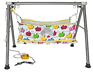 Buy multipro automatic electric ghodiyu cradle swing for Baby palna decoration