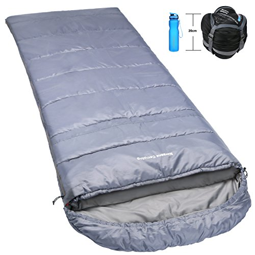 Norsens Compact Ultra Lightweight Adult Sleeping Bag for Camping Backpacking Hiking Outdoor with Compression Sack, XL, 0 Degree Celsius (Lightweight Sleeping Quilts compare prices)