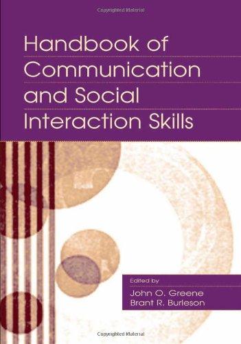 Handbook of Communication and Social Interaction Skills...