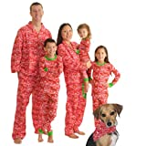 Christmas Cheer Family Matching Flannel Pajamas by SleepytimePjs