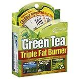 Applied Nutrition Triple Fat Burner, Green Tea, Maximum Strength, Liquid Soft-Gels, 30 soft-gels