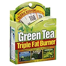 Applied Nutrition Triple Fat Burner, Green Tea, Maximum Strength, Liquid Soft-Gels, 30 soft-gels