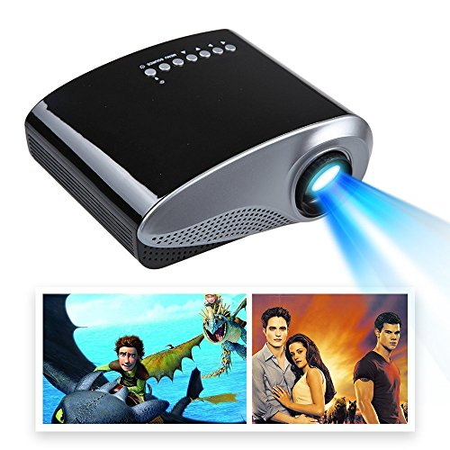 Mira-Tech-24Inch-Portable-Mini-Projector-169-43-50000-hours-10001-Contrast-with-Max-19201080-Native-480320-Resolution-60Lumen-Multimedia-LED-Projector-Support-Charged-by-Vehicle-Power-Black