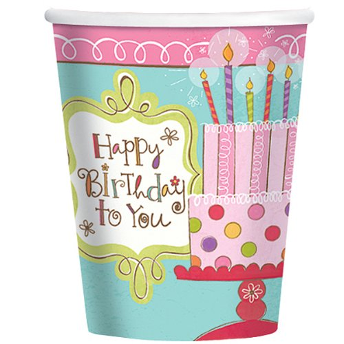 Sweet Stuff Birthday Cups