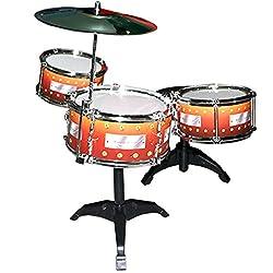 7 pcs Drum Set Musical Band Instrument Playset Gift Kids Toys Toy Gift -83