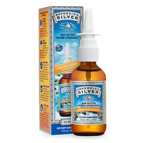 Sovereign Silver Bio-Active Silver Hydrosol - 10 ppm - Nasal Spray--2 fl oz - DRU-374295_1