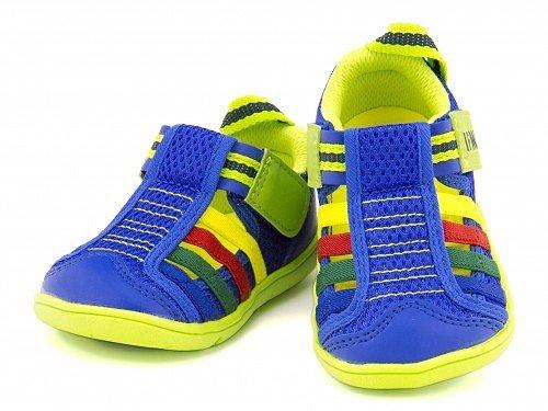 [イフミー] IFME 女の子 男の子 キッズ ベビー 子供靴 サンダル ウォーターシューズ スニーカー 通気性 速乾性 22-5004 ブルー 13.5cm