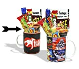 Sweet and Nostalgic Thundercats Logo Mug with a Thundera portion of 80's Retro Sweets. 630gms