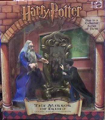 Picture of Mattel Harry Potter Classic Scenes Collection - The Mirror of Erised Figure (B000WV1IRQ) (Harry Potter Action Figures)