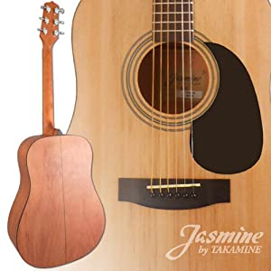 new jasmine by takamine s35 natural dreadnaught acoustic guitar with qwiktune. Black Bedroom Furniture Sets. Home Design Ideas