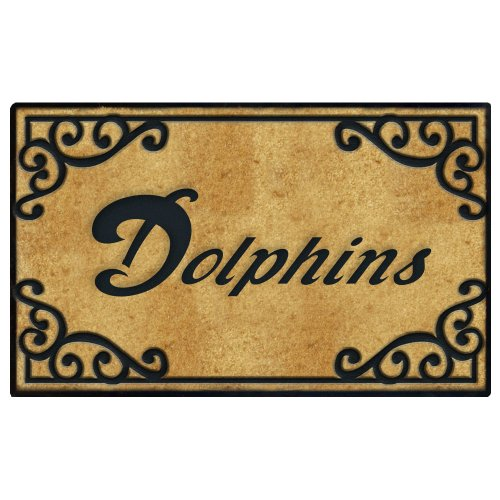Miami Dolphins Door Mat at Amazon.com