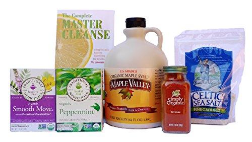 Organic master cleanse