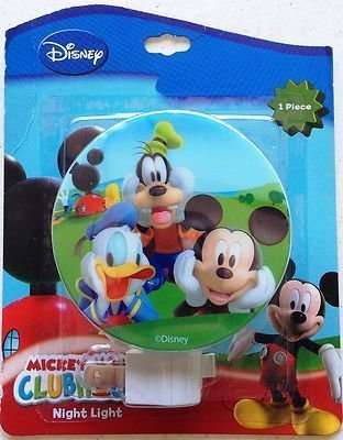 Disney Mickey Mouse & Friends Night Light (assorted styles) - 1