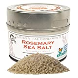 Gustus Vitae Rosemary Sea Salt, 3.6 Ounce