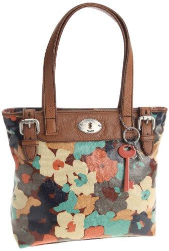 Womens Nylon Handbags FOSSIL WOMEN BAG W VINTAGE KEYPER SHOPPER FLORAL ZB5126919