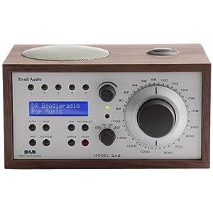 tivoli audio model dab digital radio mit weckfunktion walnuss beige. Black Bedroom Furniture Sets. Home Design Ideas
