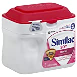 Similac Isomil Infant Formula, with Iron, Soy-Based Powder, for Fussiness and Gas, Birth to 12 Months, 1.45 lb (658 g)