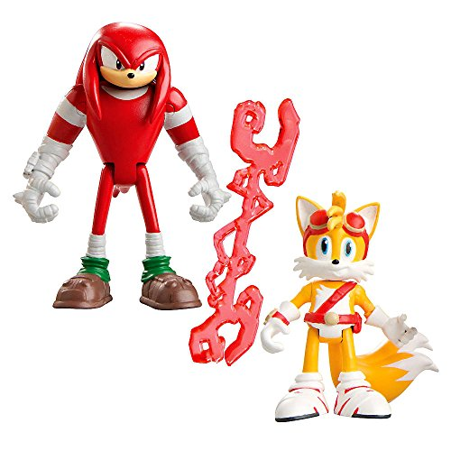 "Tomy Sonic Boom 3 ""Action Figura - Knuckles e Tails"