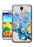 Bradley's Shop Startfishes,Shells,Pearl Drawing Wallpaper Proctive Case for People- Print TPU Phone Protector Cover for SAMSUNG GALAXY NOTE 3