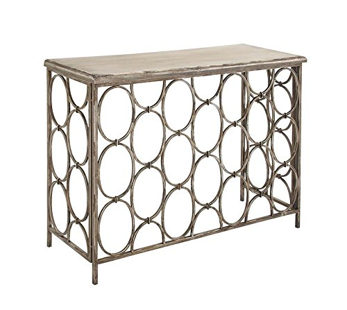 Deco 79 18151 Metal Wood Console Table, 43