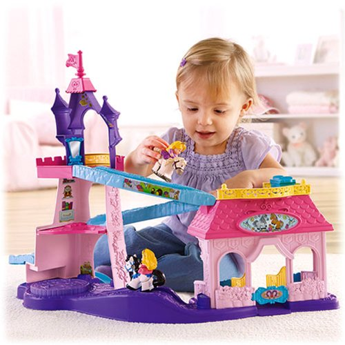 Fisher Price Little People Stable Playset
