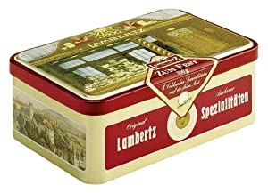 Lambertz 'Zum Fest' (300g/ 10.6 Oz) Assorted Gingerbread Covered in Chocolate
