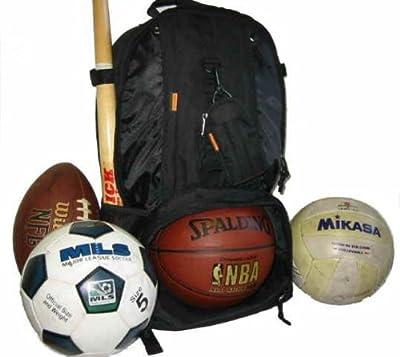 Baseball Backpack Basketball Football Soccer Ball Storage Helmet Compartment