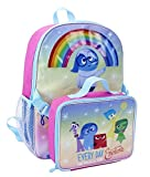 Disney Pixar Inside Out Backpack with Lunchbag Combo