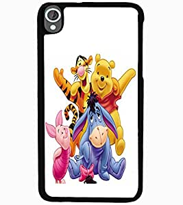 ColourCraft Cartoons Design Back Case Cover for HTC DESIRE 820