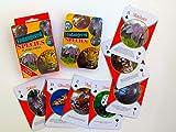Endangered Species Animals Deck Souvenir, Playing Cards Double Deck