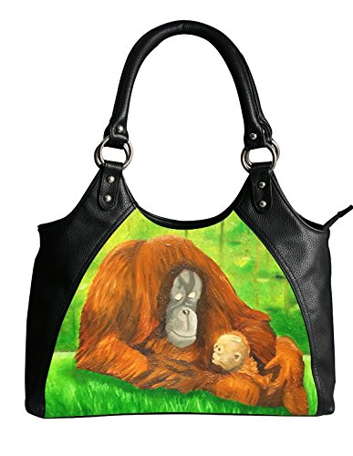 Vegan Orangutan Shoulder Bag