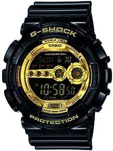 [カシオ]CASIO 腕時計 G-SHOCK ジーショック Black×Gold Series ブラックゴールドシリーズ 【数量限定】 GD-100GB-1JF メンズ