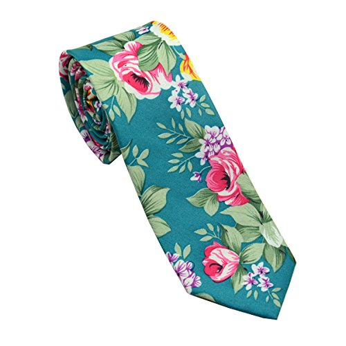 fslesi-men-casual-fashion-floral-cotton-slim-tie-necktie-cyan