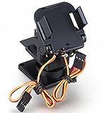 FPV 空中撮影 用 2軸 アングル パン チルト カメラ台 カメラ マウント キット 空撮 雲台 防振 (3個 セット)