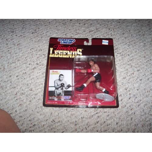 Joe Louis Starting Lineup Timeless Legends Action Figure (Boxing) by Hasbro, Inc. (English Manual)