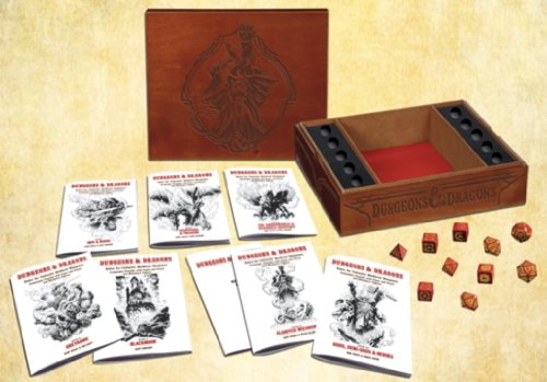 Premium Original Dungeons & Dragons Fantasy Roleplaying Game (D&D Boxed Game)