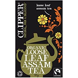 Clipper Teas - Specialities - Fairtrade Organic Assam Loose Leaf Tea - 125g