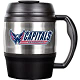 Great American Products Mtm016-14 52Oz. Stainless Steel Macho Travel Mug With Bottle Opener- Nhl Capitals