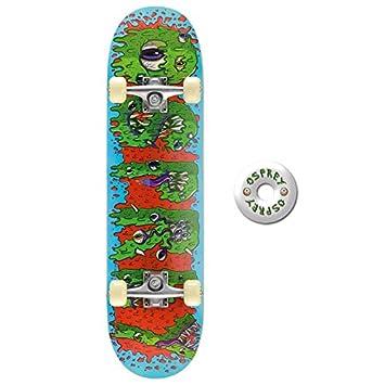 Osprey Slime Double Kick Pro Skateboard Multicolore